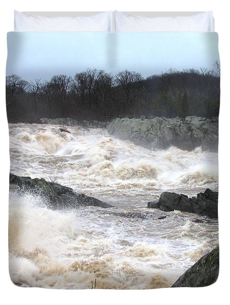 Great Falls Torrent Duvet Cover