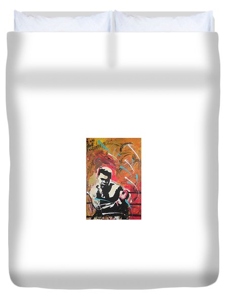 Great Gloves Of Fire Duvet Cover