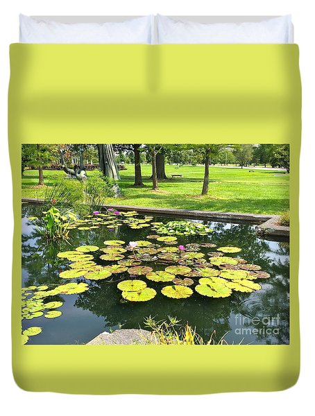 Great Greenery Duvet Cover
