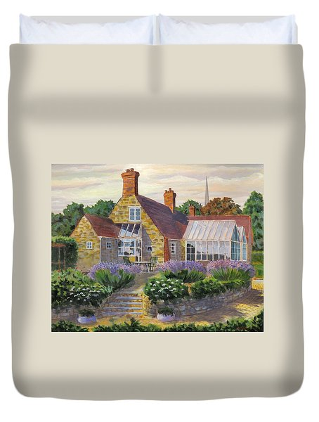 Great Houghton Cottage Duvet Cover