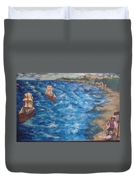 Great Lakes Pirates Duvet Cover
