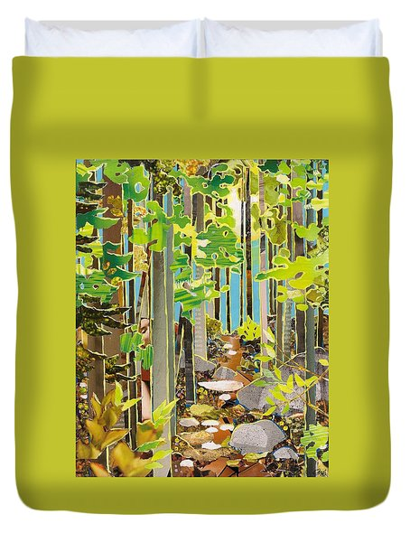 Great Maine Woods Duvet Cover