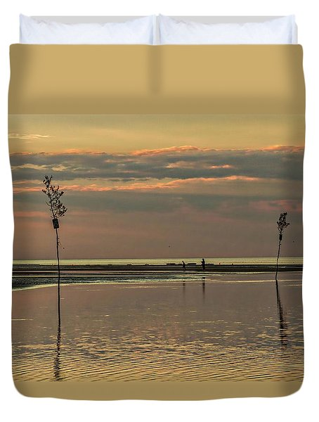 Great Moments Together Duvet Cover by Patrice Zinck