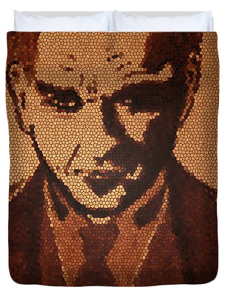 Great Mustafa Kemal Ataturk  Duvet Cover