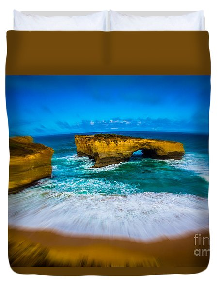 Great Ocean Road Duvet Cover