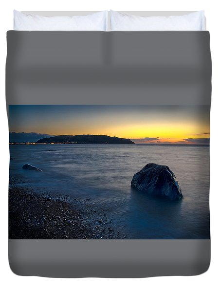 Great Orme, Llandudno Duvet Cover