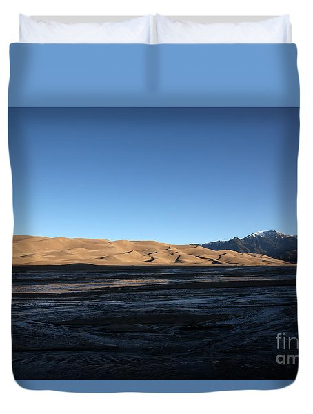 Great Sand Dunes National Park Duvet Cover
