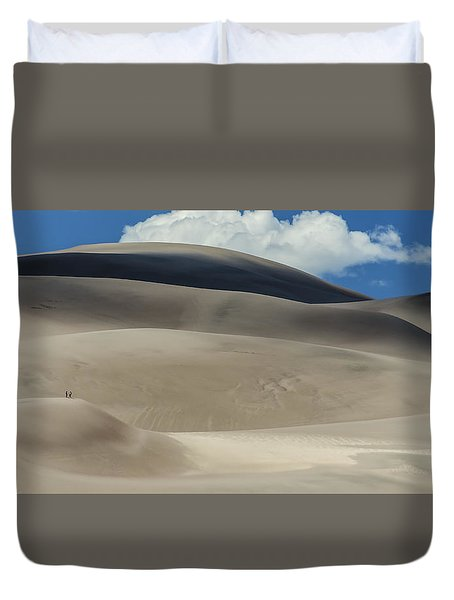 Great Sand Dunes National Park II Duvet Cover by Greg Reed