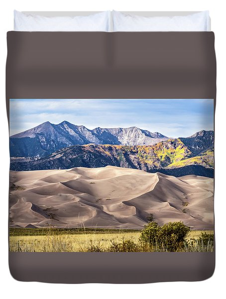 Great Sand Dunes Of Southern Colorado Duvet Cover