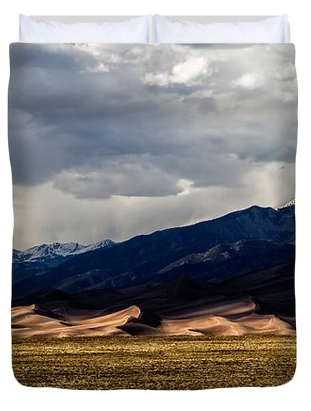 Great Sand Dunes Panorama Duvet Cover