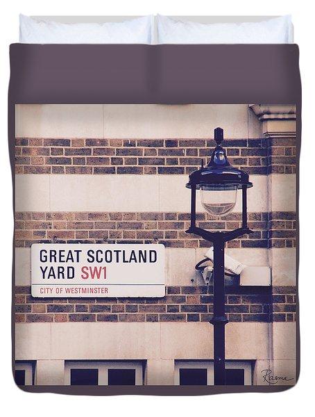 Great Scotland Yard Duvet Cover