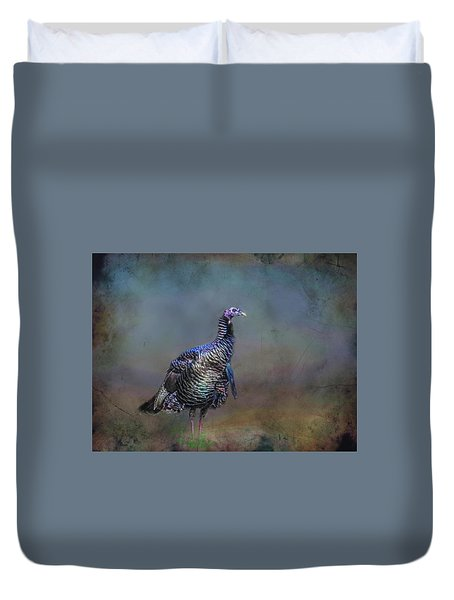 Great Smokey Turkey Duvet Cover