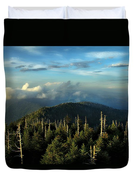 Great Smokies Duvet Cover