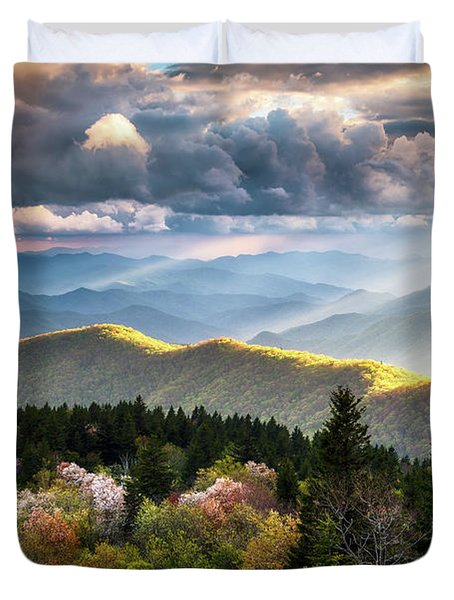 Great Smoky Mountains National Park - The Ridge Duvet Cover