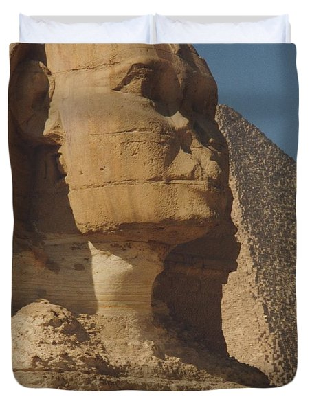 Great Sphinx Of Giza Duvet Cover