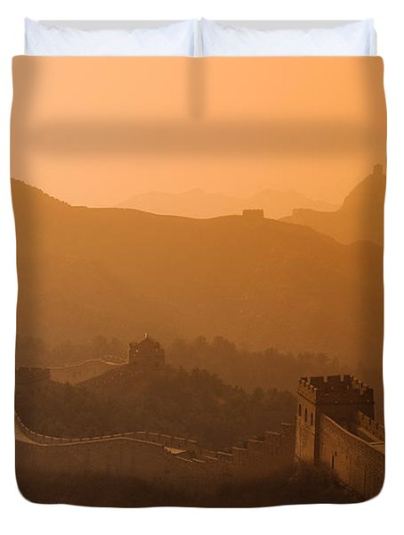 Great Wall Of China Duvet Cover