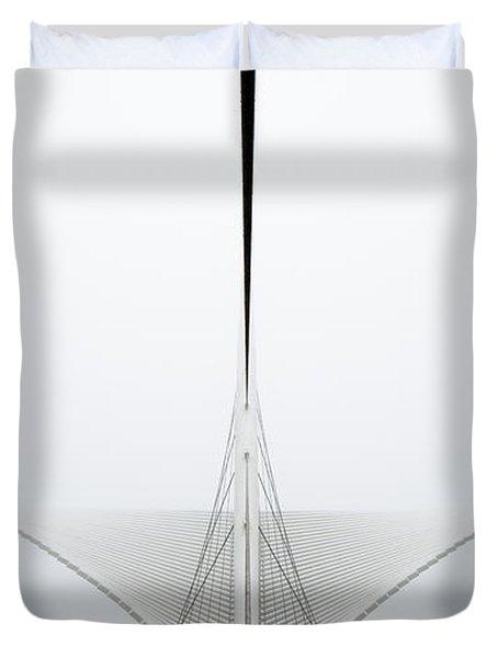 Great White Duvet Cover