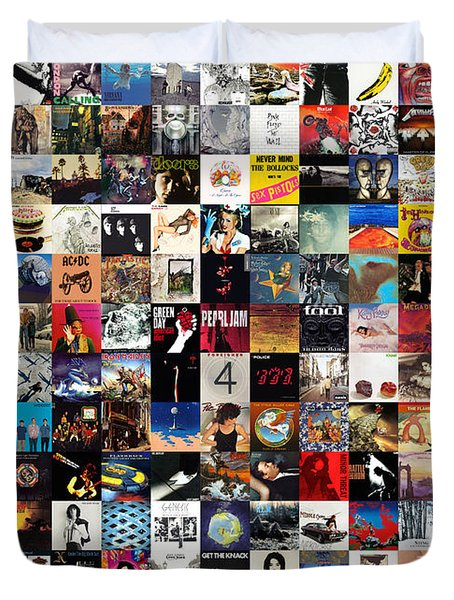 Greatest Album Covers Of All Time Duvet Cover