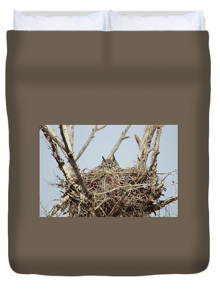 Greathornedowl3 Duvet Cover