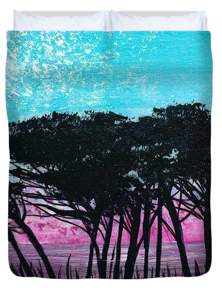 Grecian Sunset Duvet Cover