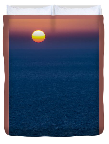 Greek Sunset Duvet Cover