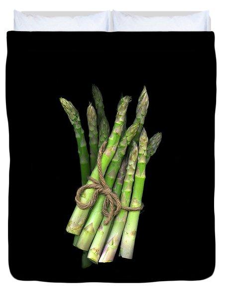 Green Asparagus Duvet Cover