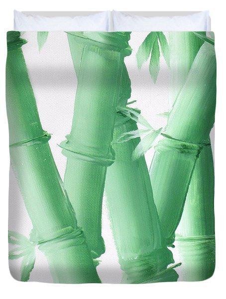 Green  Bamboo Duvet Cover