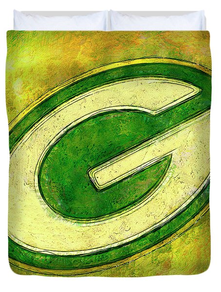 Green Bay Packers Logo Painting By Jack Zulli