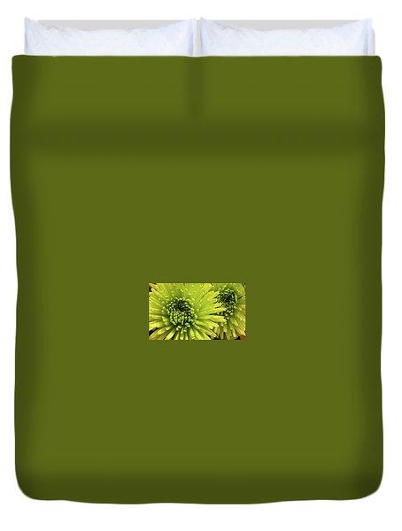Green Delight Duvet Cover