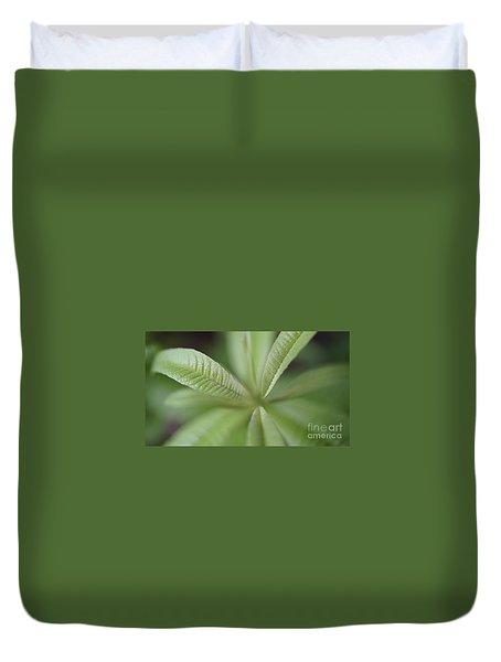 Green Dream Duvet Cover