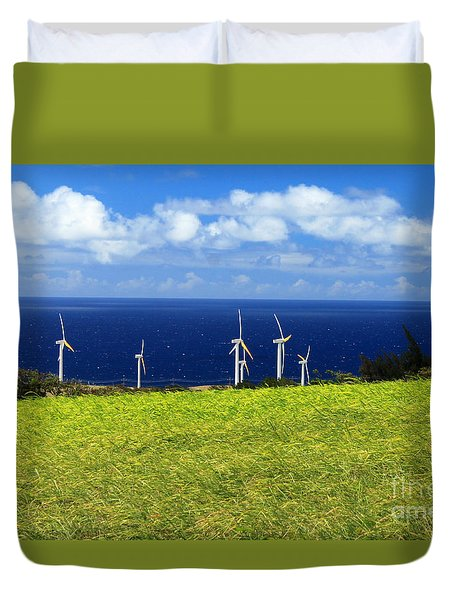 Green Energy Duvet Cover