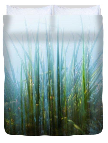 Morning At The Lake Duvet Cover