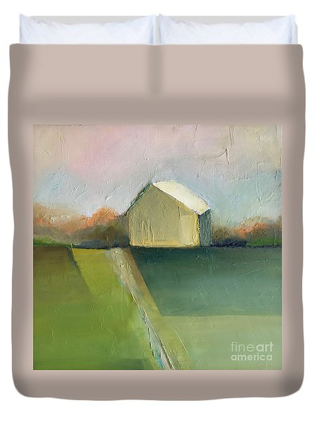 Green Field Duvet Cover