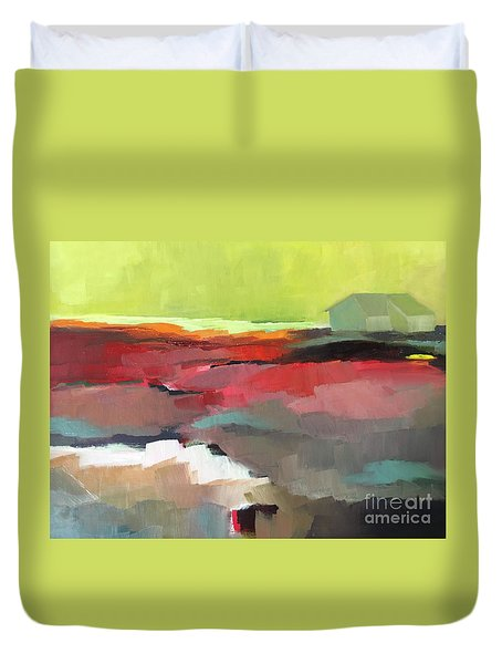 Green Flash Duvet Cover
