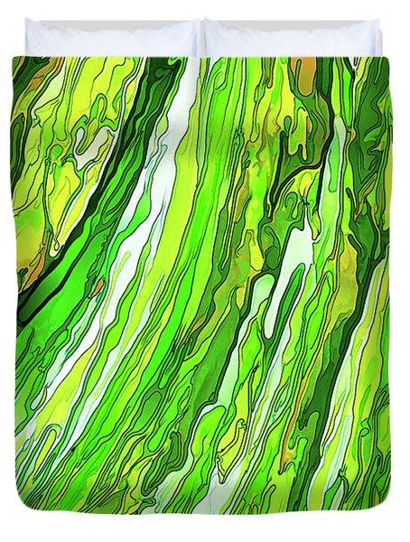 Green Garden Duvet Cover