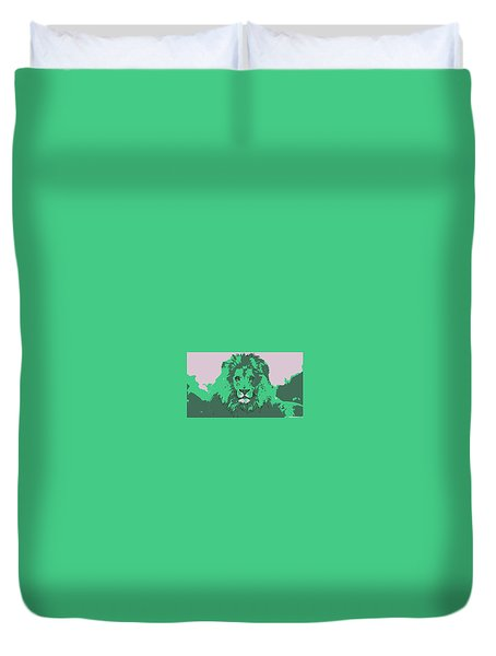 Green King Duvet Cover