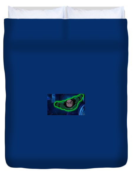 Green Lantern Corps Duvet Cover