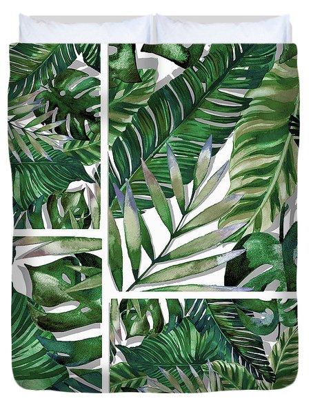 Green Life Duvet Cover