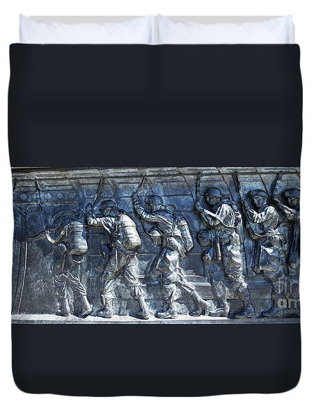 Green Light - Jump Time Duvet Cover
