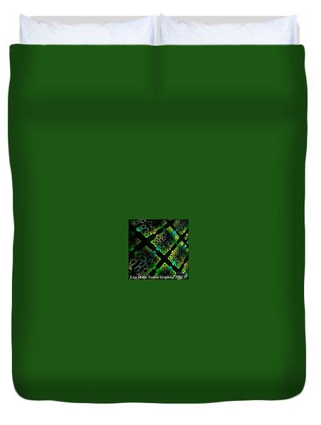 Green Light Duvet Cover