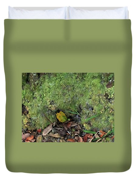 Green Man Spirit Photo Duvet Cover