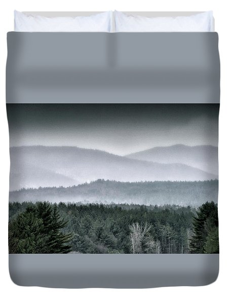 Duvet Cover featuring the photograph Green Mountain National Forest - Vermont by Brendan Reals