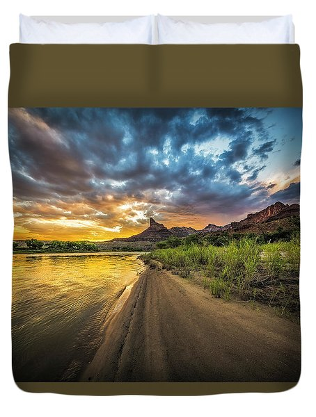 Green River, Utah 2 Duvet Cover