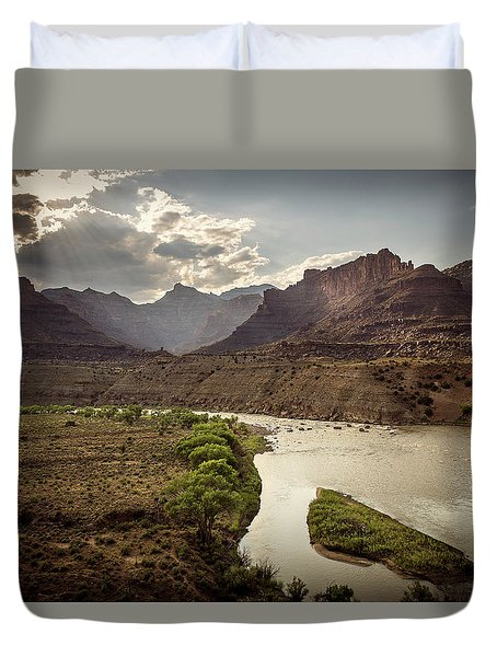 Green River, Utah Duvet Cover