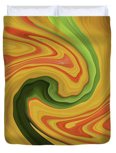 Green River Duvet Cover