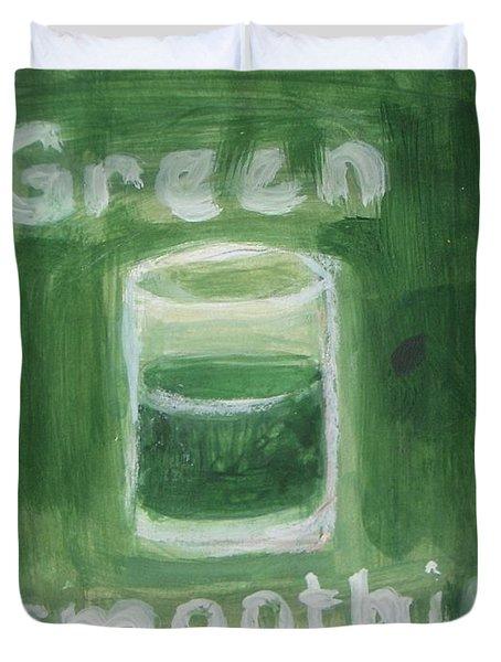 Green Smoothie Duvet Cover