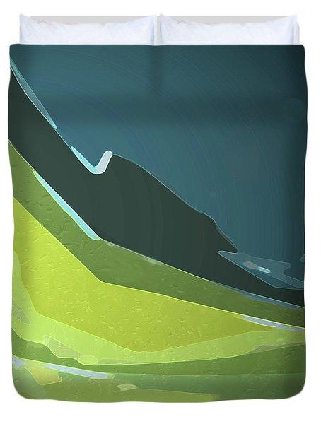 Green Valley Duvet Cover