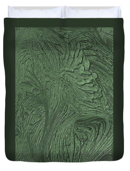 Green Wind Duvet Cover