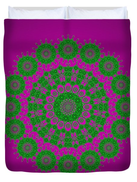 Green With Envy Duvet Cover