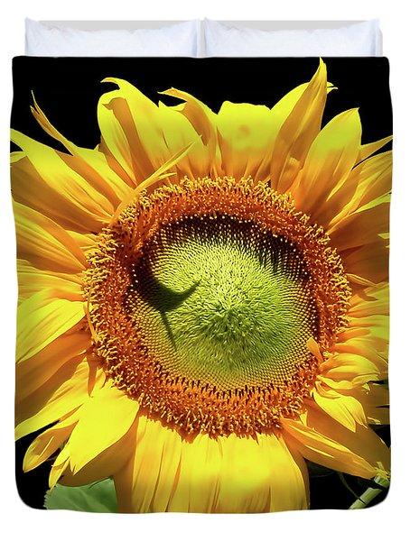 Greenburst Sunflower Duvet Cover